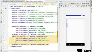 Bài 40: Thiết kế giao diện cho màn hình chủ đề
