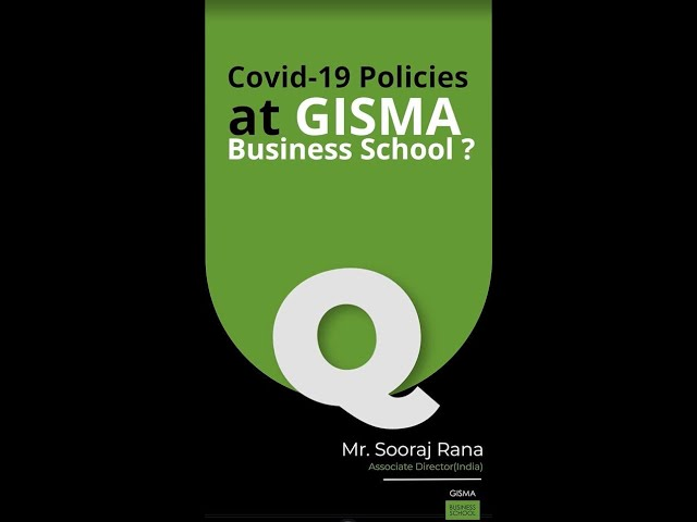 Covid-19 Policies at GISMA Business School ?