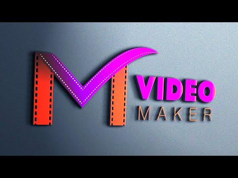 Video Maker logo design  Illustrator||graphic design||logo design||Online learning graphic tutorial