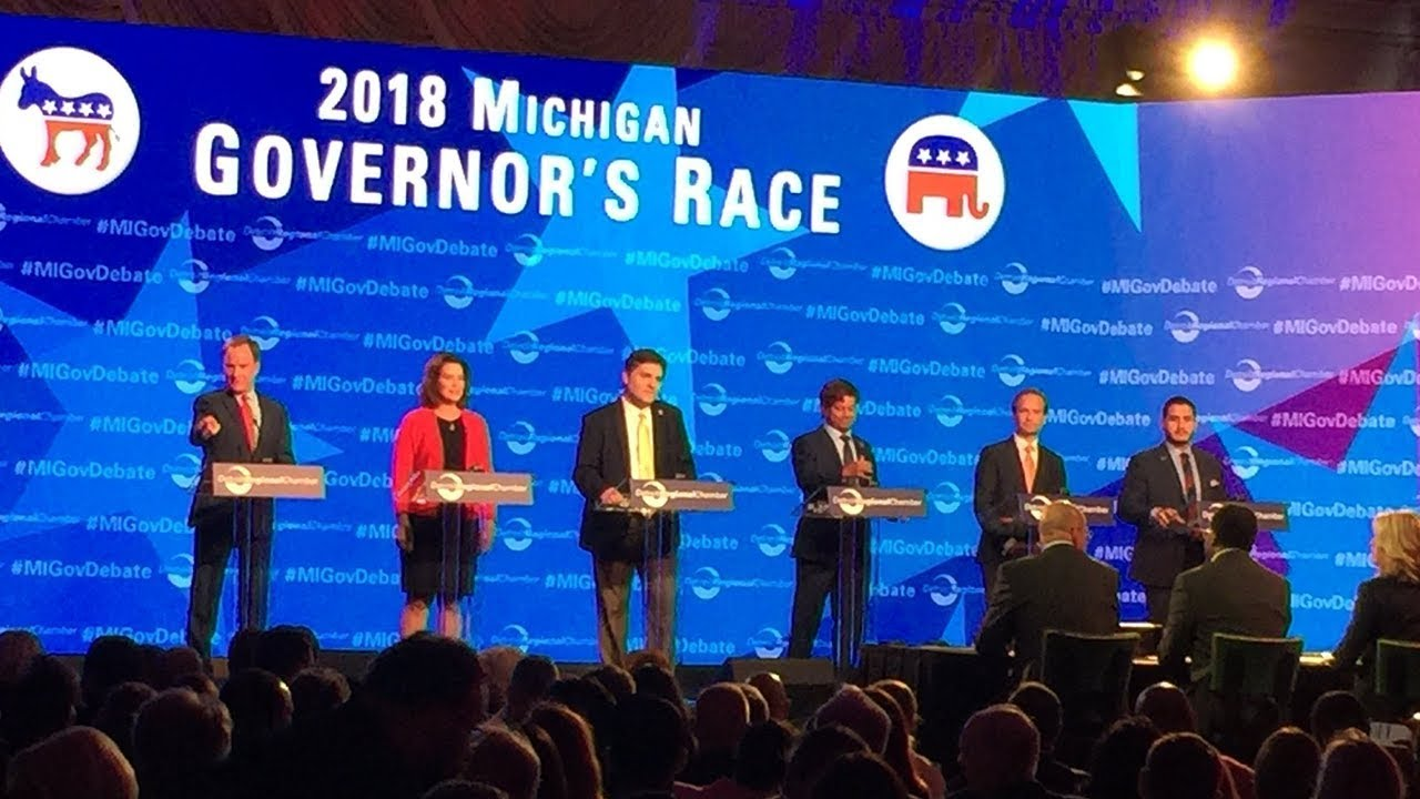 Gubernatorial Debate: Detroit Regional Chamber 2018 PAC Reception | 2018 Mackinac Policy Conference