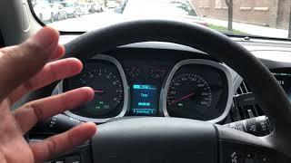 Chevrolet Equinox – How to lock and unlock the doors
