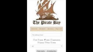 Tutorial The PirateBay - Como baixar filme, série, game, aplicações... via torrent