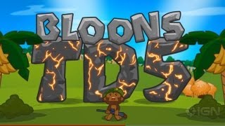 Picture of a game: Bloons Tower Defense