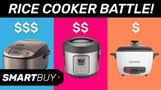$135 Rice Cooker Vs. $15 Rice Cooker (Zojirushi vs. Black & Decker) - Rice cooker comparison