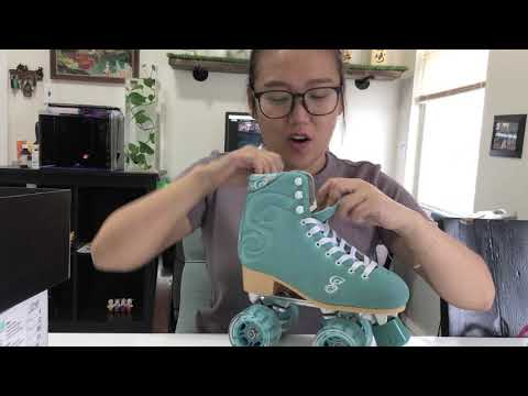 Unboxing Candy Girl Roller Skate!!!