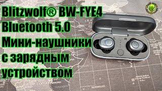 Blitzwolf® BW FYE4 Bluetooth 5.0 Мини-наушники с зарядным устройством