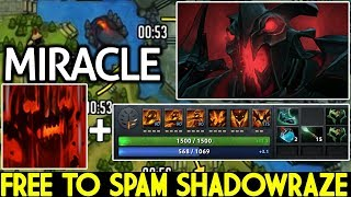 Miracle- [Shadow Fiend] Free To Spam Shadowraze New Favorite Build 7.21 Dota 2