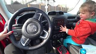 Jeep Renegade. Джип Ренегат. Очень яркая машина