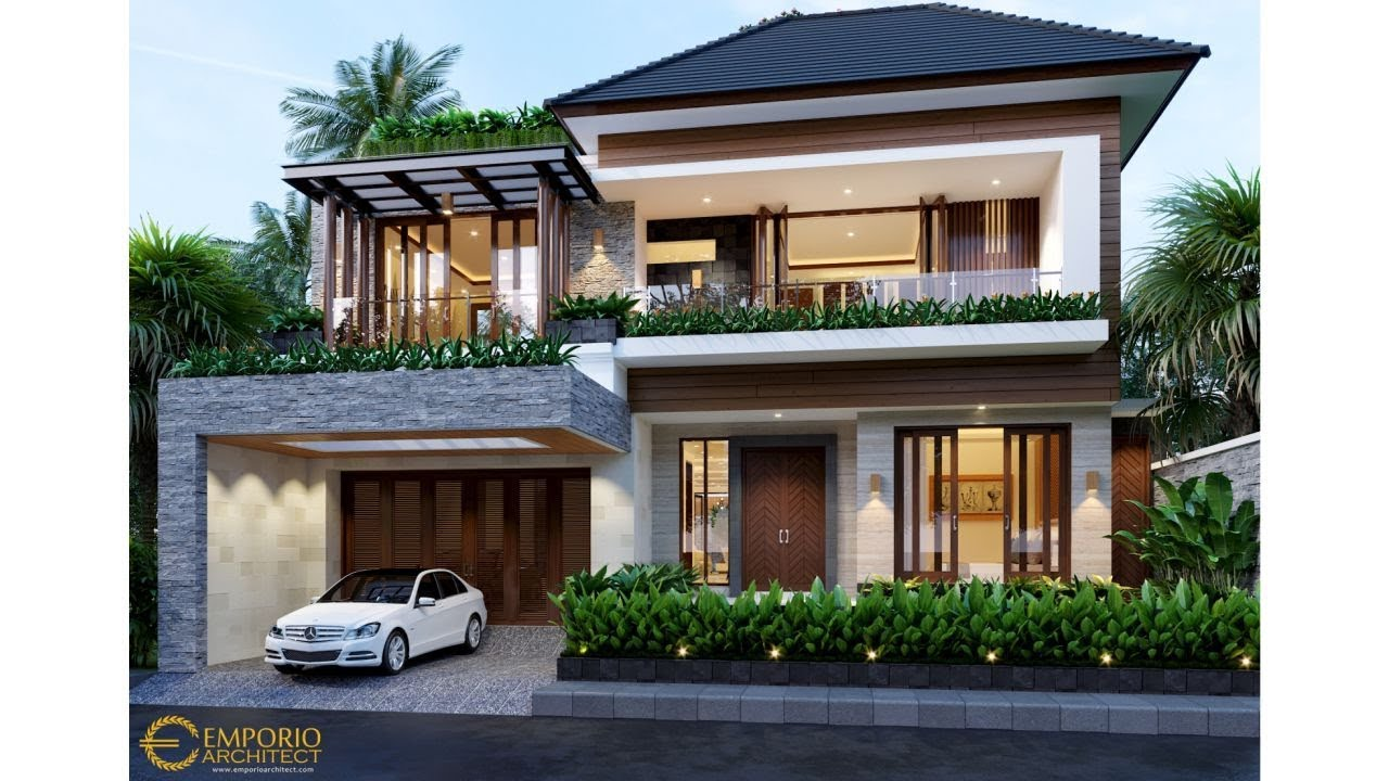 Video 3D Desain Rumah Modern 2 Lantai Bapak Hayadi di Jakarta Barat