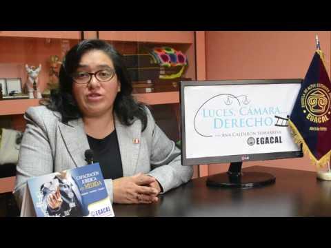 Programa 31 - La Esclavitud o Servidumbre - Luces Cámara Derecho - EGACAL