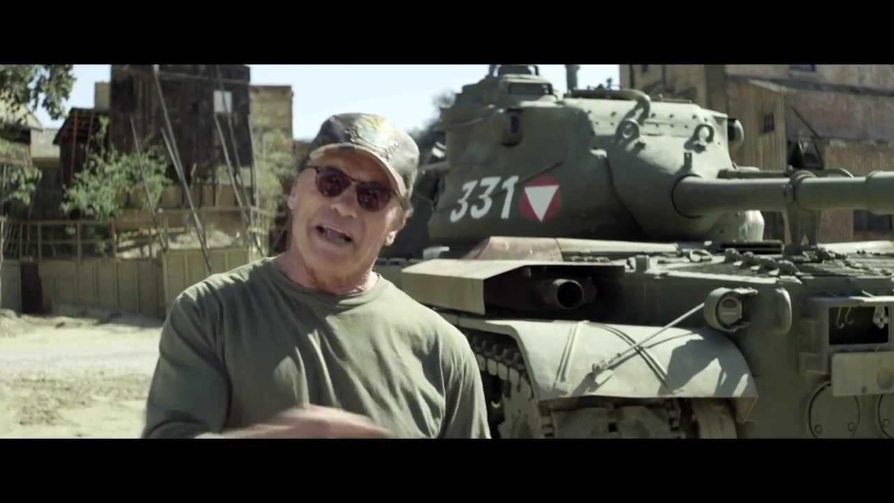 Watch Arnold Schwarzenegger Crush Stuff In His Tank