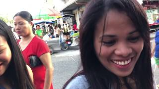 Quick Walk Through Apo Market & Long Tricycle Ride - Angeles City