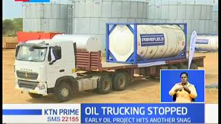 Tullow oil Halts Transportation of oil due to poor state of roads