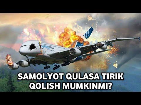SAMOLYOT QULASA TIRIK QOLISH MUMKINMI?