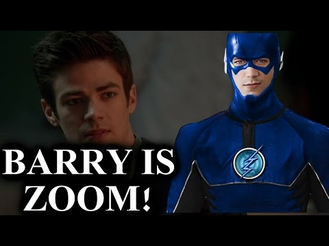 BARRY IS ZOOM!! (Some Proof) The Flash Season 2 (THEORY)