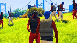 Bloods vs Crips Day In The Life 2 -  gta 5