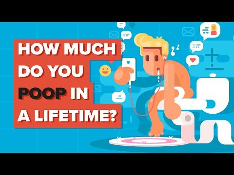 How Much Do You Poop In A Lifetime?