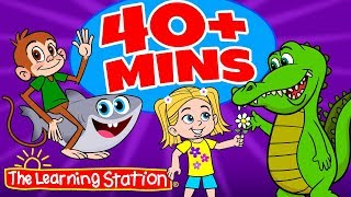 Get Funky (Funky Monkey) Dance, Baby Shark Original Song + More ♫ Kids Songs by The Learning Station