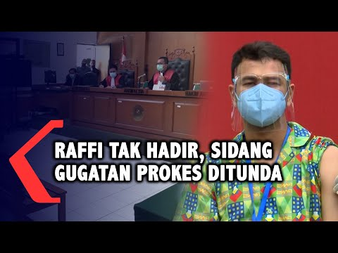 Raffi Ahmad Tak Hadiri Sidang Gugatan Pelanggaran Prokes