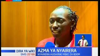 Mshindi wa fedha katika mbio za mita mia nane Margaret Nyairera adokeza ari yake