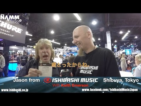 Keith Emerson ONLY interview at NAMM 2015 日本語字幕
