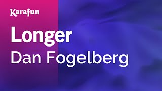 Karaoke Longer - Dan Fogelberg *