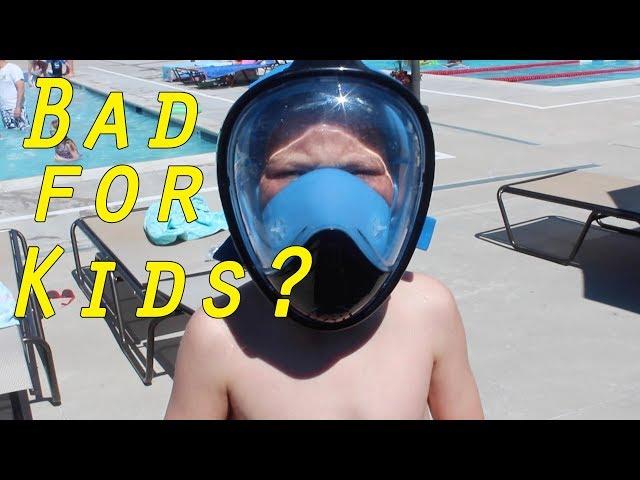 Bad for Kids? Full Face Snorkel Masks