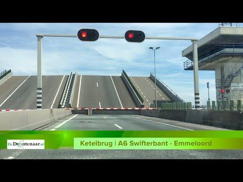 """Bouwend Nederland bezorgd over Ketelbrug: """"Doorstroming belemmerd, steden onbereikbaar"""""""