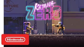 Katana ZERO - Announcement Trailer - Nintendo Switch