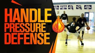 How To Handle HIGH PRESSURE Defense with Coach KP Potts