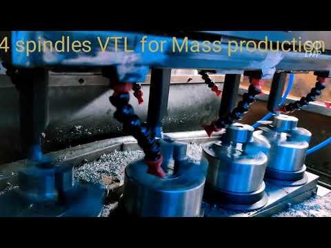4 Spindle CNC Lathe Vertical
