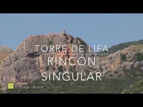 Torre de Lifa, Rincón Singular. Etapa 23 de la Gran Senda de Málaga