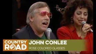 """John Conlee sings """"Rose Colored Glasses"""""""