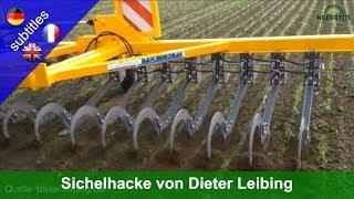 Sichelhacke entwickelt und vorgestellt von Dieter Leibing an den Oekofeldtagen 2019 in Kassel