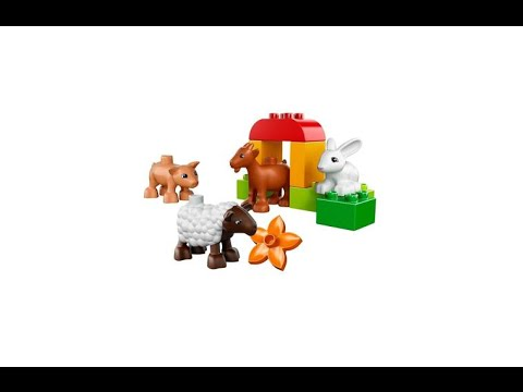 Vidéo LEGO Duplo 10522 : Les animaux de la ferme