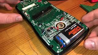 Multimeter Batterie Wechsel 9V Block ersetzen Revolt Digital Multimeter Stromversorgung Anleitung