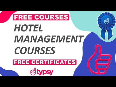 Free Online Courses With Certificates | Hospitality | Hotel ... - YouTube
