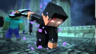 Великая рэп битва в minecraft Херобрин vs Зомби