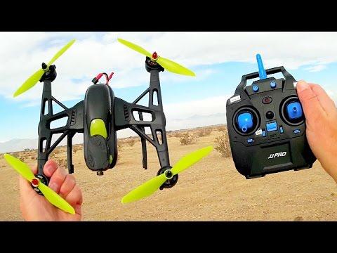 JJRC JJPRO X2 Cheap Brushless Sport Drone Flight Test Review