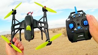 JJRC JJPRO X2 Cheap Brushless Sport Drone Flight Test Review