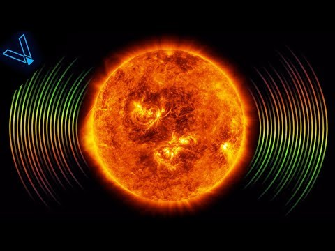 This Is What The Sun Sounds Like (Creepy!) 4K UHD