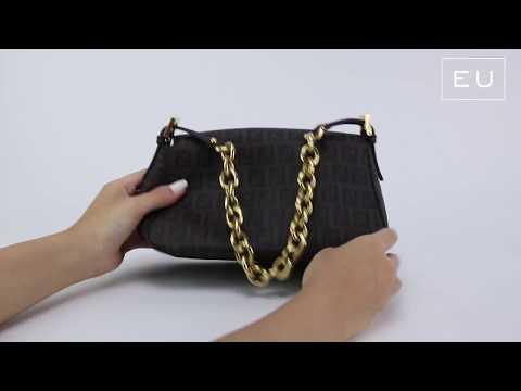 Bolsa Fendi Baguette Monograma | Etiqueta Única