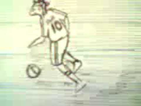 Filp book football plays skills