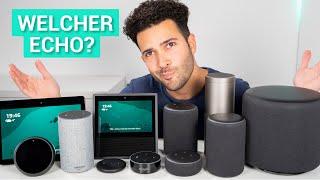 Überblick - Welcher Amazon Echo Lautsprecher ist der richtige für mich? (2018er Generation)