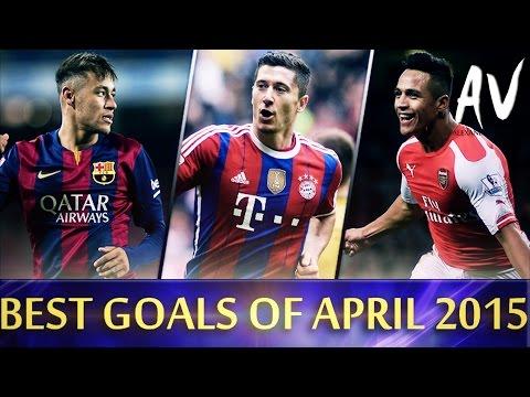 THE BEST GOALS OF APRIL 2015