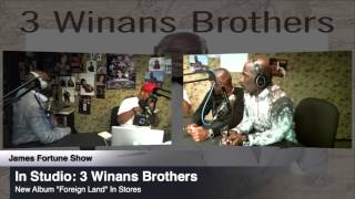 3 Winans Brothers Preview 2 Songs off Album