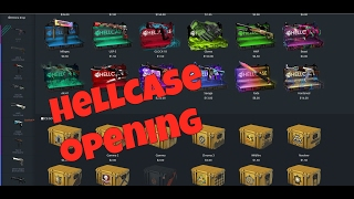 hellcase opening