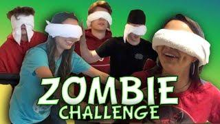 Zombie Challenge - Merrell Twins w/Harrison Webb, Ryan Abe & Anderson Webb
