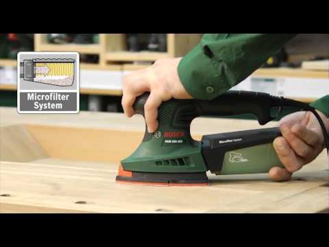 Tutorial: Multischleifer PSM 200 AES von Bosch