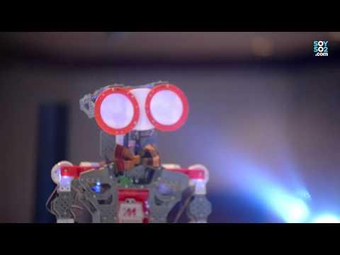 El robot TecLab fue el invitado especial del I Guatemala Innovation Forum